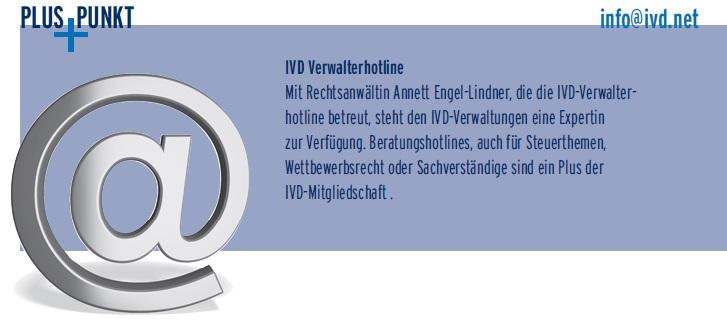 IVD Verwalterhotline