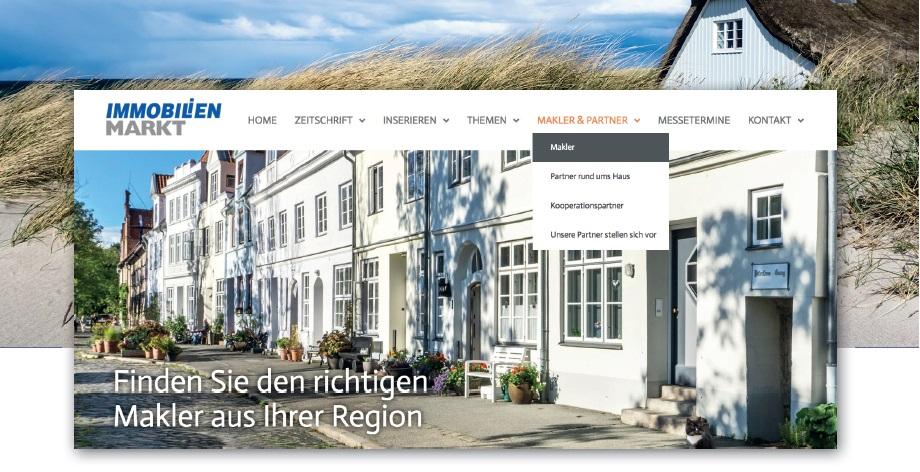 """Der """"Immobilienmarkt"""" - Allrounder in Sachen Immobilienwerbung"""