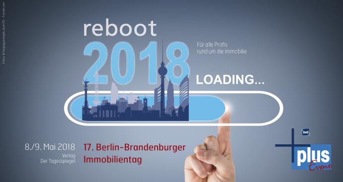 BBIT 2018 – 17. Berlin-Brandenburger Immobilientag: Die Einladung