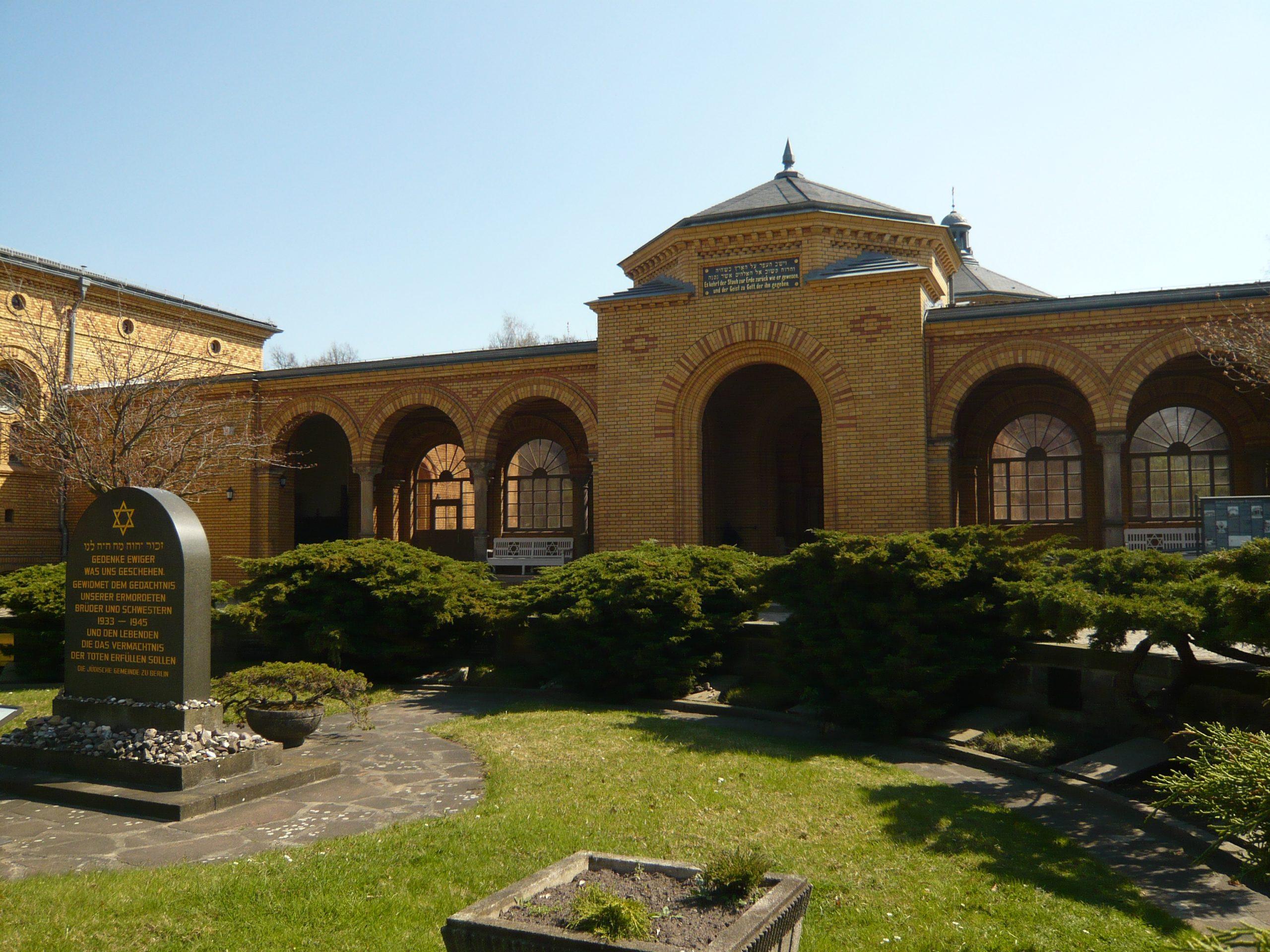 Gebäude mit Geschichte: Jüdischer Friedhof Weißensee
