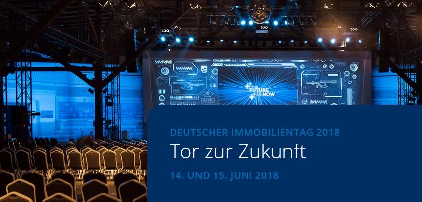 Deutscher Immobilientag 2018 in Hamburg: 14./15.06.2018