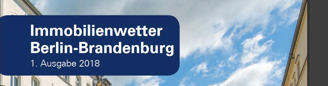 Immobilienwetter 1/2018 - Wie werden Immobilien in Berlin verkauft?