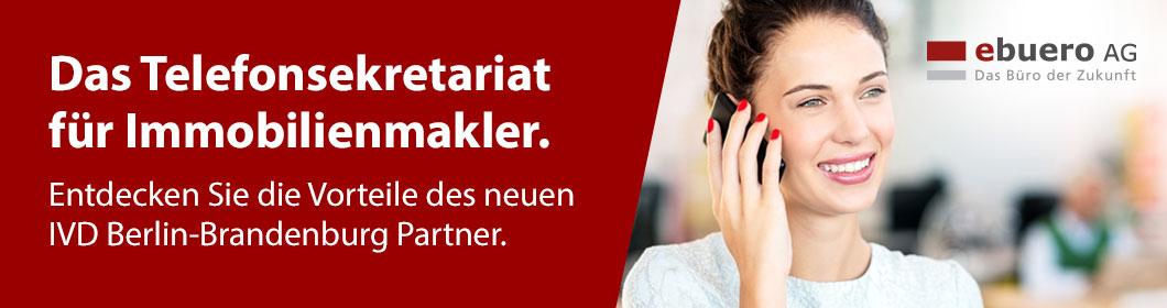 Telefonsekretariat für Makler kostenfrei ausprobieren - nur für IVD Mitglieder