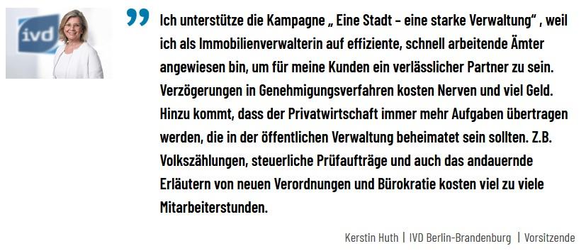 Bündnis fordert: Schluss mit dem Verwaltungschaos in Berlin