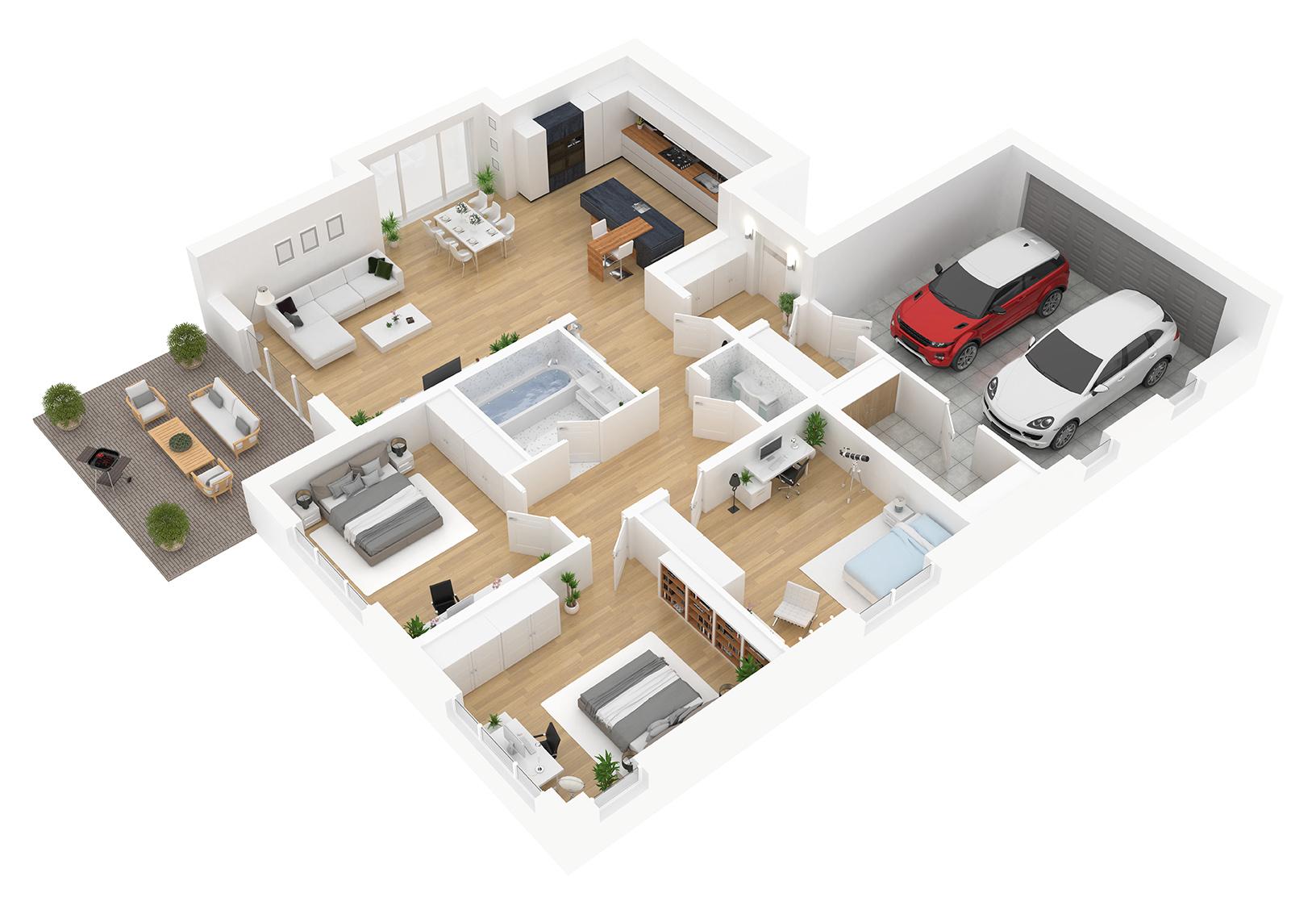 Vereinbarungen zur Wohnfläche im freifinanzierten Wohnraum