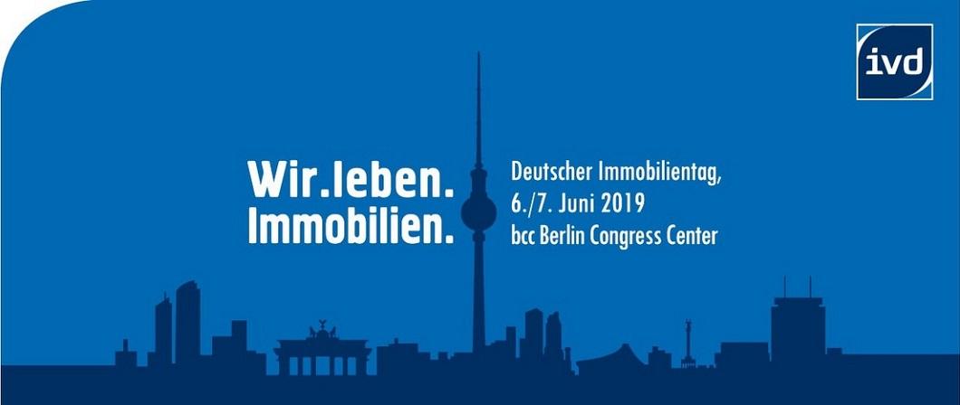 Deutscher Immobilientag 2019 in Berlin: 06./07.06.2019