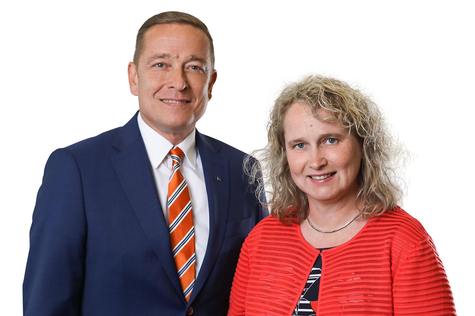 Stephan und Katrin Grupe, Einzelhandelsspezialisten