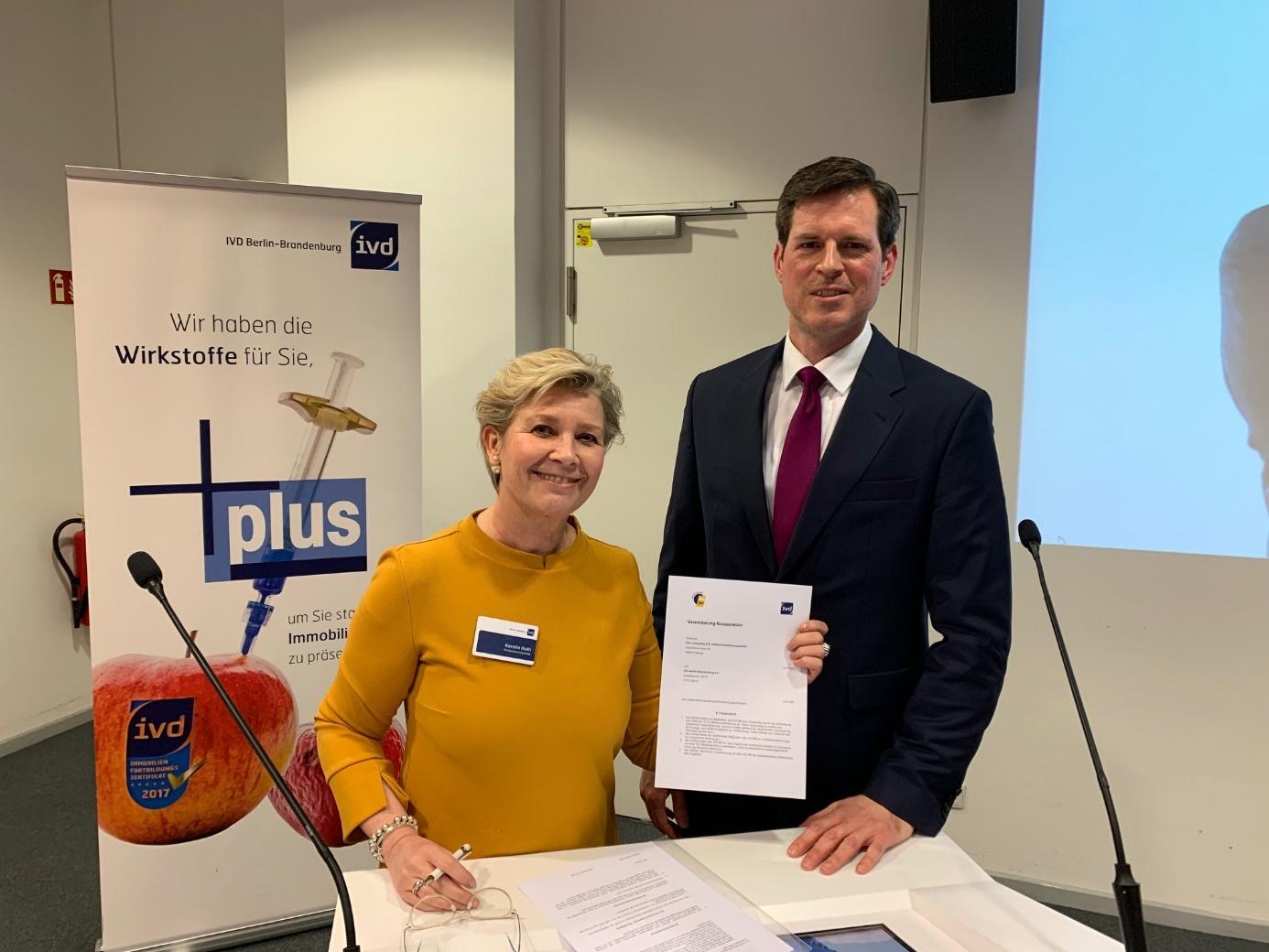 Verband: DIAZert und IVD Berlin-Brandenburg beschließen Kooperation