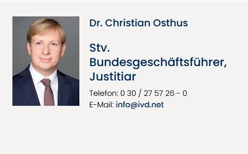 Dr. Christian Osthus - IVD