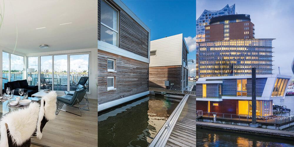 """Floating Homes – Das """"neue"""" Wohnen auf dem Wasser 1"""