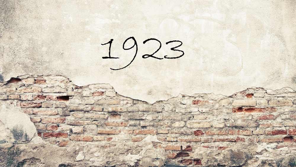 Zahl des Monats:1923 1